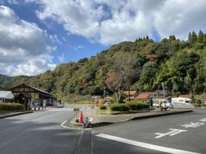 石見銀山公園駐車場