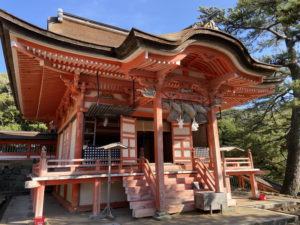日御碕神社の神の宮(上の宮)