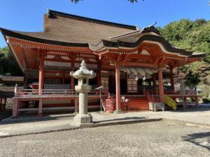日御碕神社の日沉宮(下の宮)