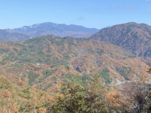 昇仙峡ロープウェイからの紅葉