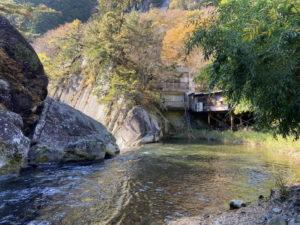 仙娥滝の上