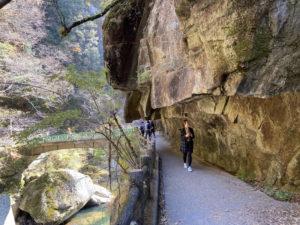 昇仙峡の散策