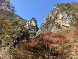 昇仙峡・天狗岩