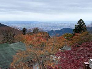 大山阿夫利根神社からの展望