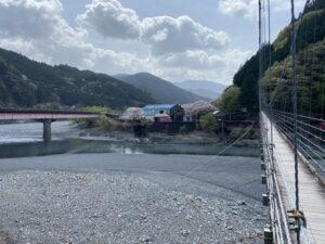 両国吊橋【大井川】