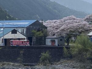 井川線の車両基地