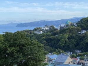 伊豆山神社からの展望