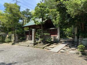 寿福寺の総門