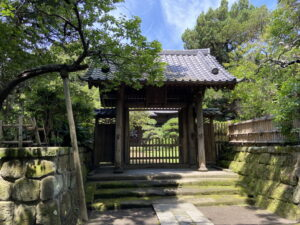 寿福寺の仏殿