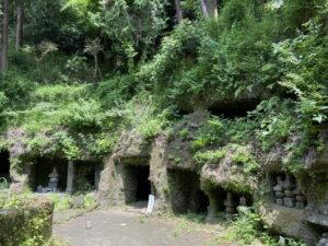 寿福寺の墓地