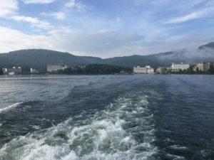 阿寒湖遊覧船