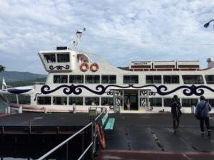 阿寒湖観光船