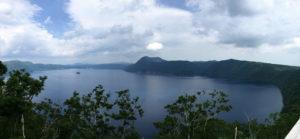 摩周湖第1展望台からの摩周湖