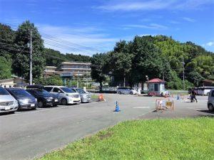 こどもの国の駐車場