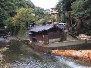 黒川温泉の共同浴場・穴湯