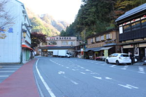 袋田の滝「土産物店」