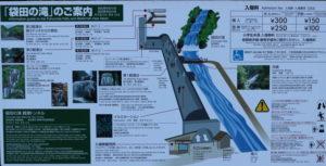 袋田の滝「トンネル構造」