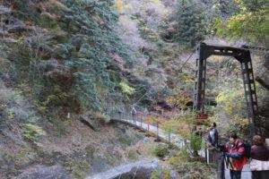 袋田の滝「つり橋」