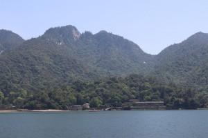 厳島・駒ケ林と弥山
