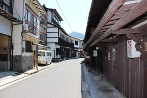 厳島の街並み