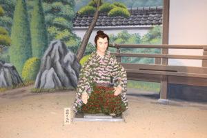 笠間の菊人形「西郷どん」