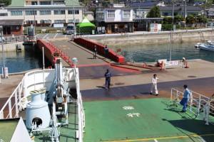 大三島フェリーの忠海港