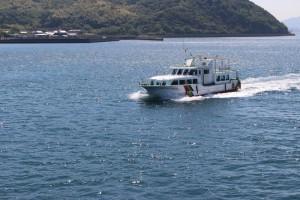 大久野島への旅客船