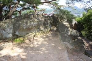 千光寺の巨石