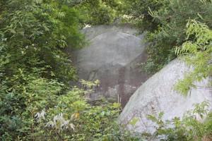 千光寺の鏡岩