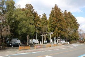 熊野本宮大社の参道入口