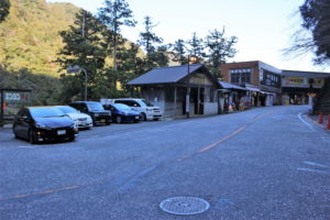 那智の滝の公共駐車場