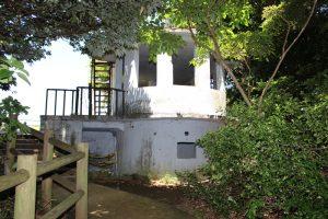 猿島の観測所跡