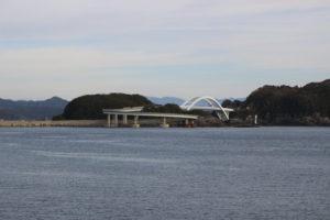 紀伊大島のループ橋