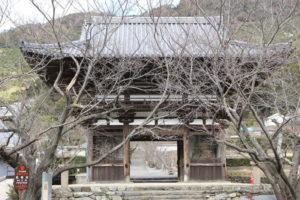 長保寺の大門(国宝)