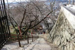 紀三井寺の石段