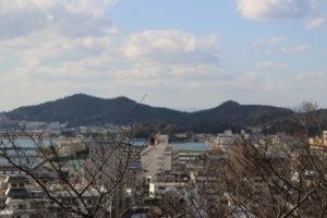紀三井寺からの展望