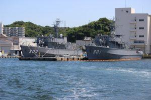 掃海艦MSO-301(やえやま型・やえやま)