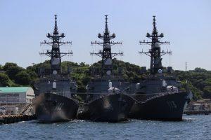 海上自衛隊のミサイル護衛艦
