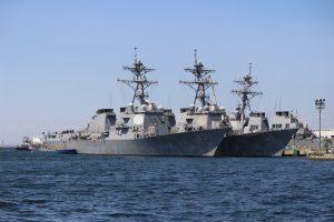 アメリカ海軍のミサイル駆逐艦