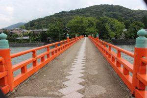 宇治川の朝霧橋