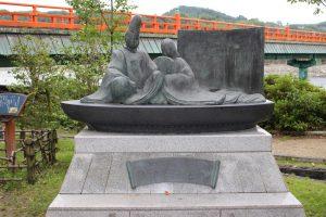 源氏物語の石碑