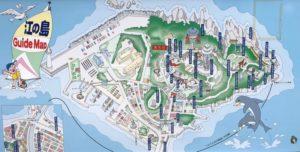 江ノ島観光マップ