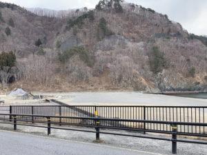 震災遺構 明戸海岸防潮堤