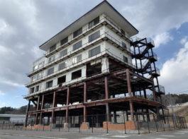 震災遺構「たろう観光ホテル」