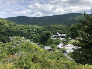 奈良・長谷寺からの展望
