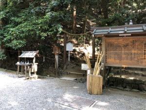 三輪山への登拝口