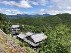 吉野山からの展望