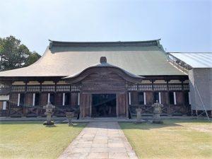 国宝「瑞龍寺」法堂