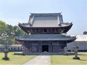 国宝「瑞龍寺」仏殿