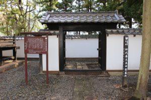 長国寺の真田家墓所